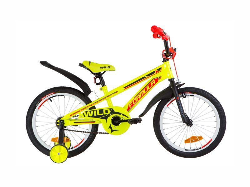 Велосипед Formula Wild 18 yellow-orange