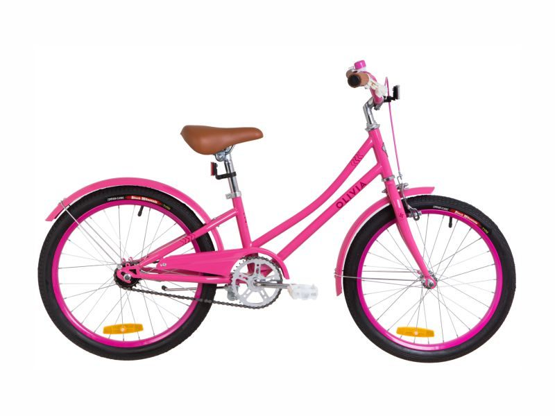 Велосипед Dorozhnik Olivia 20 pink