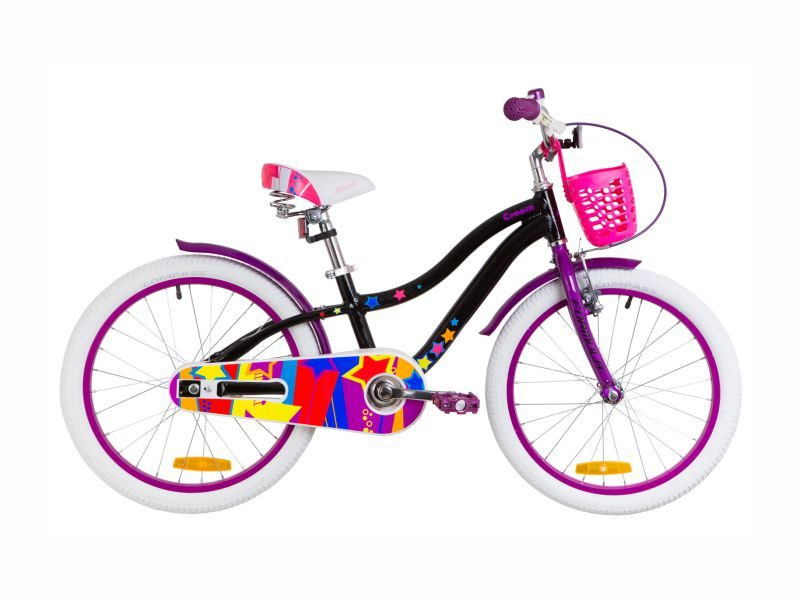 Велосипед Formula Cream 20 black-violet