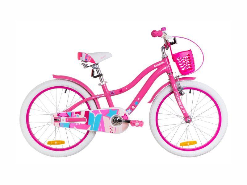 Велосипед Formula Cream 20 pink-blue