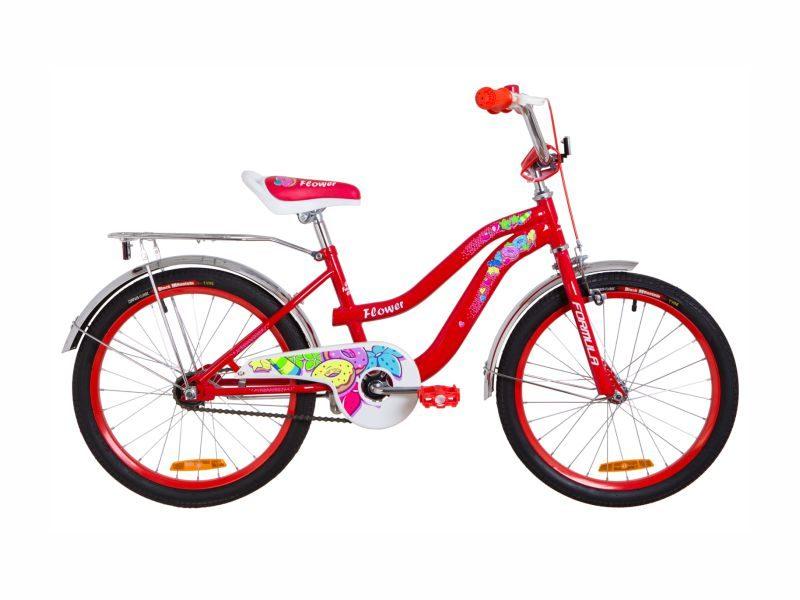 Велосипед Formula Flower 20 red