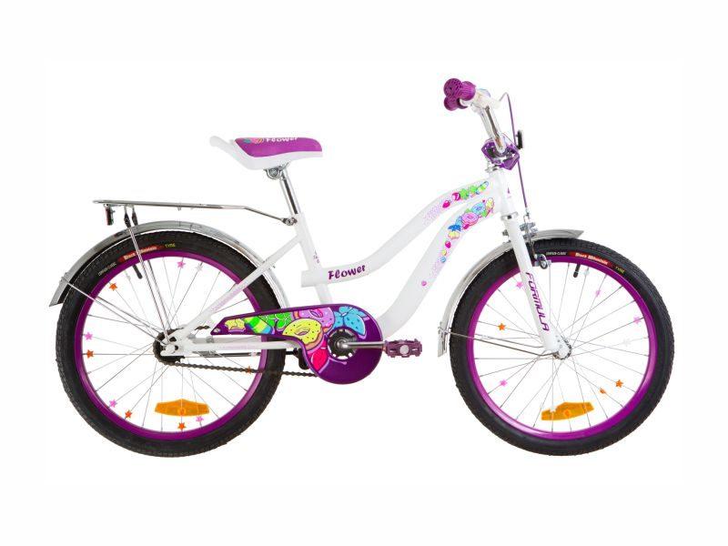 Велосипед Formula Flower 20 white-violet