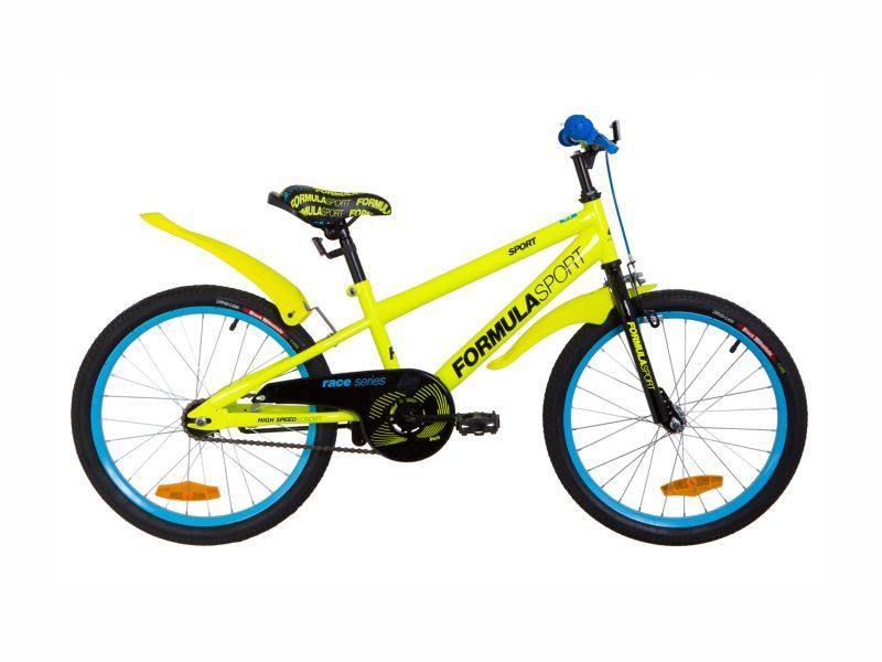 Велосипед Formula Sport 20 yellow