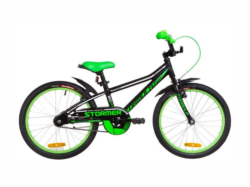 Велосипед Formula Stormer 20 black