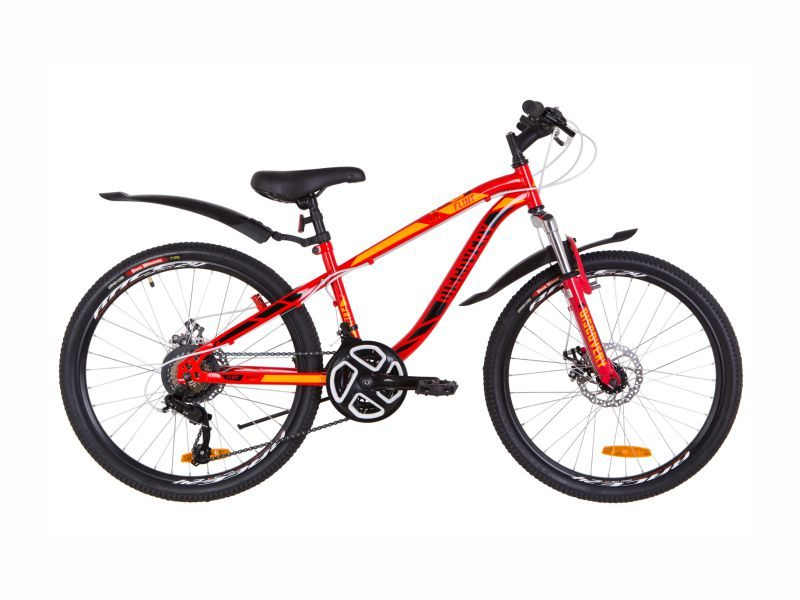 Велосипед Discovery Flint AM DD 24 red-orange