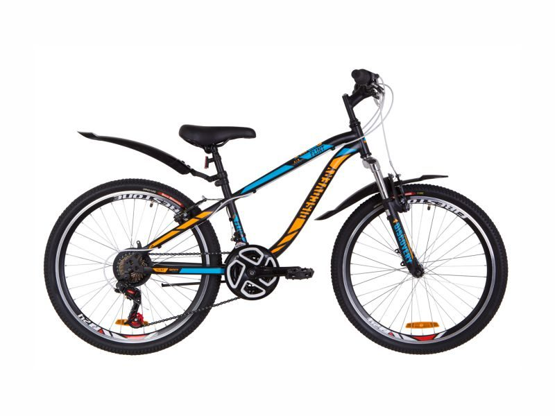 Велосипед Discovery Flint AM Vbr 24 black-blue