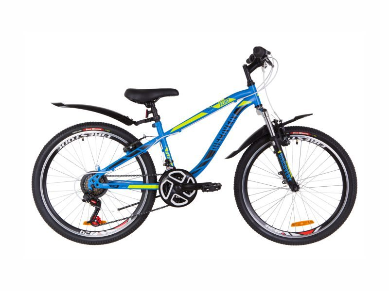Велосипед Discovery Flint AM Vbr 24 blue-green