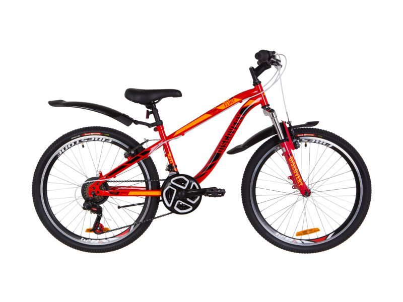 Велосипед Discovery Flint AM Vbr 24 red-orange