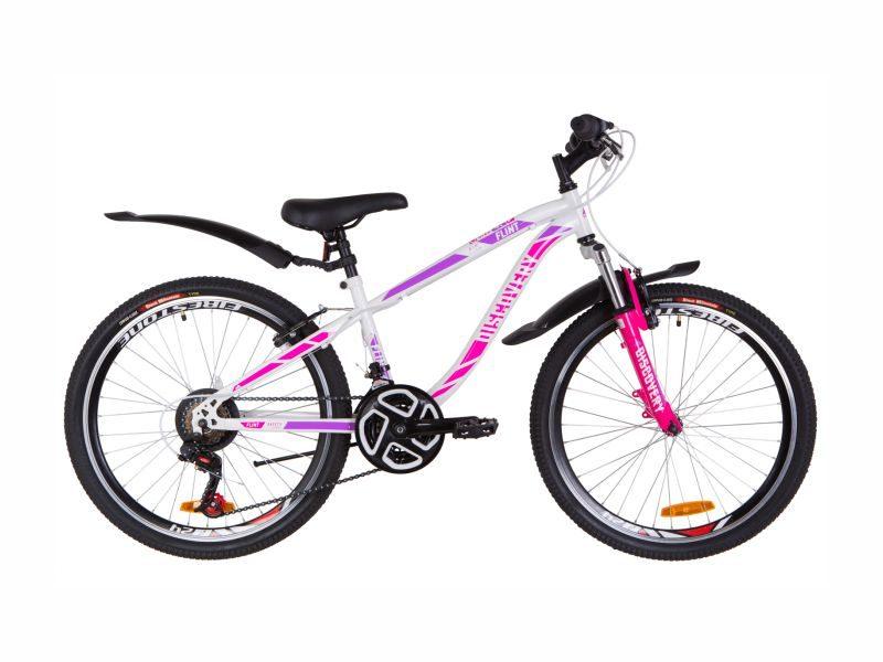 Велосипед Discovery Flint AM Vbr 24 white-crimson