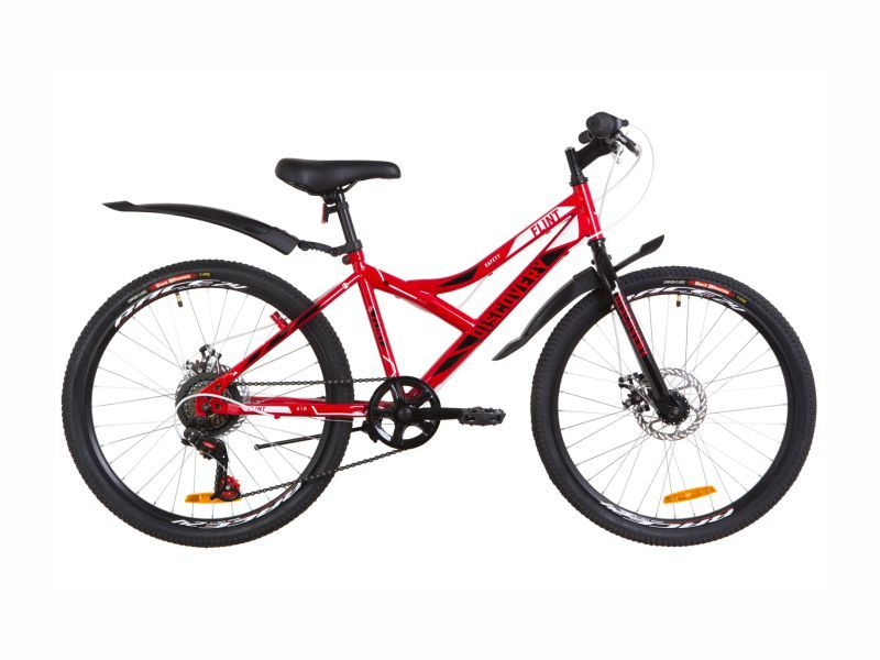 Велосипед Discovery Flint DD 24 red-white