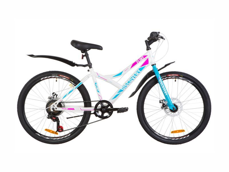 Велосипед Discovery Flint DD 24 white-blue