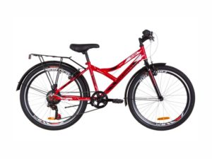 Велосипед Discovery Flint Vbr 24 багажник red-white