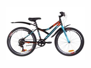 Велосипед Discovery Flint Vbr 24 black-blue