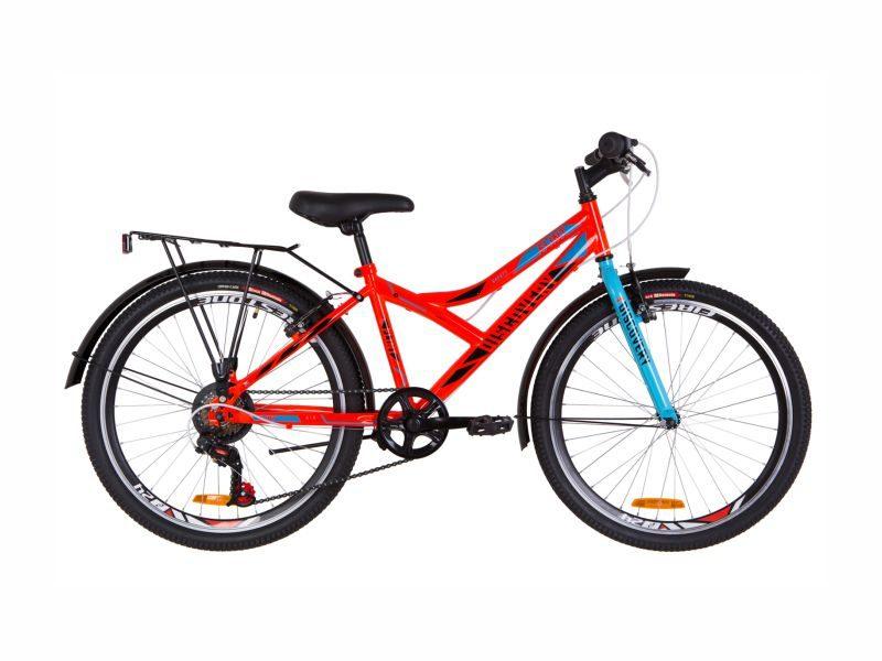 Велосипед Discovery Flint Vbr 24 багажник orange