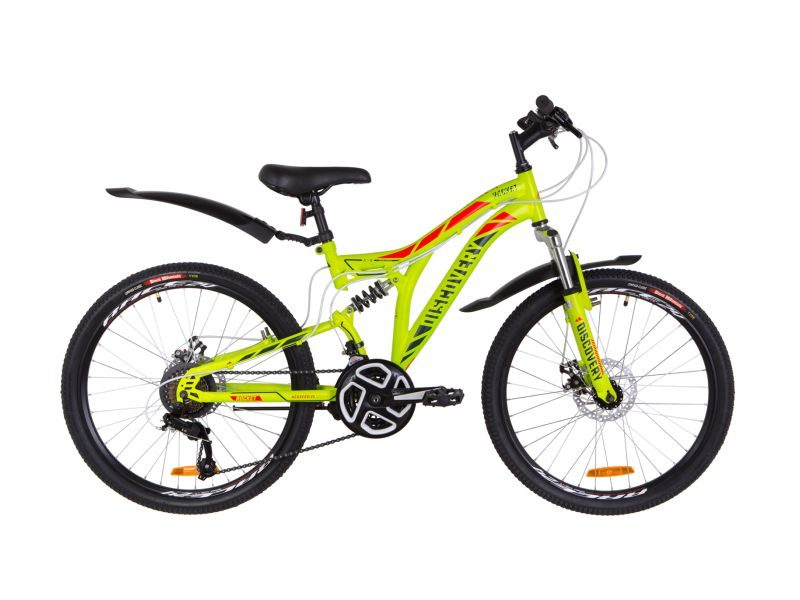 Велосипед Discovery Rocket DD 24 green-red