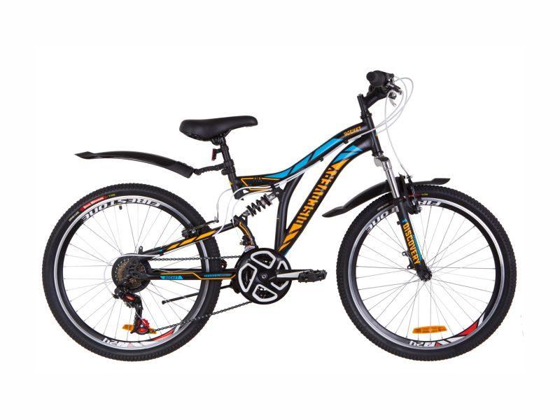Велосипед Discovery Rocket Vbr 24 black-orange