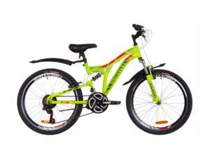 Велосипед Discovery Rocket Vbr 24 green-red