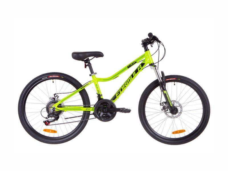 Велосипед Formula ACID 1.0 AM DD 24 lime-black