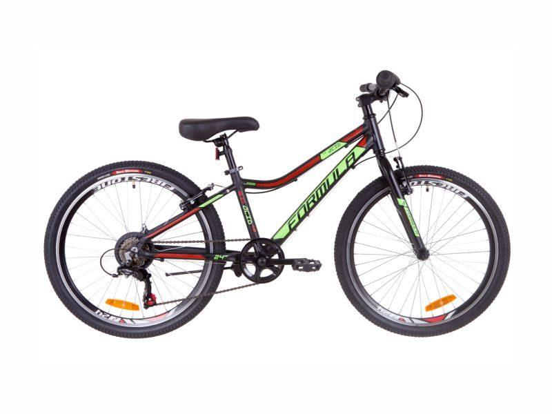 Велосипед Formula ACID 1.0 Vbr 24 black-green-red