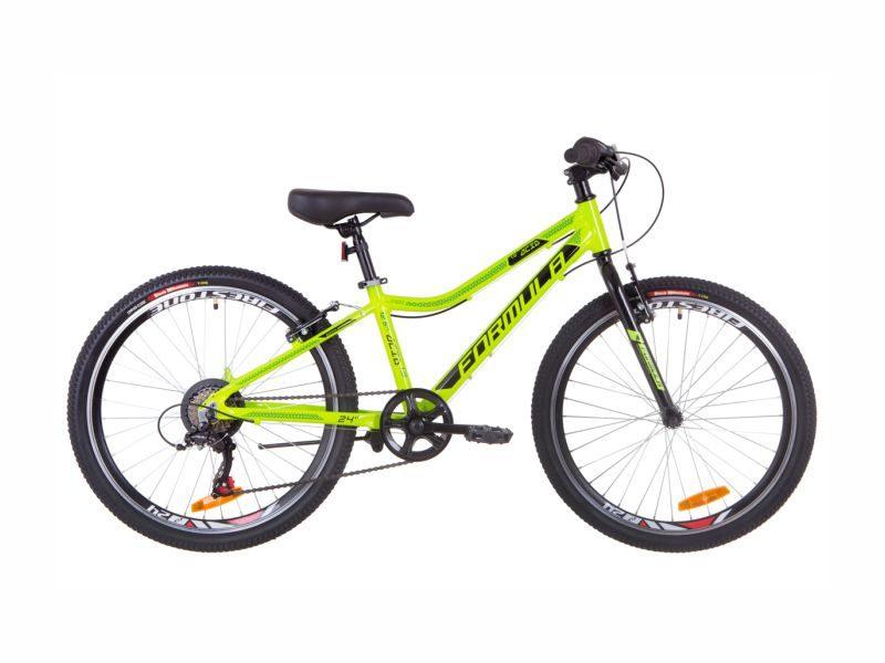 Велосипед Formula ACID 1.0 Vbr 24 lime-black