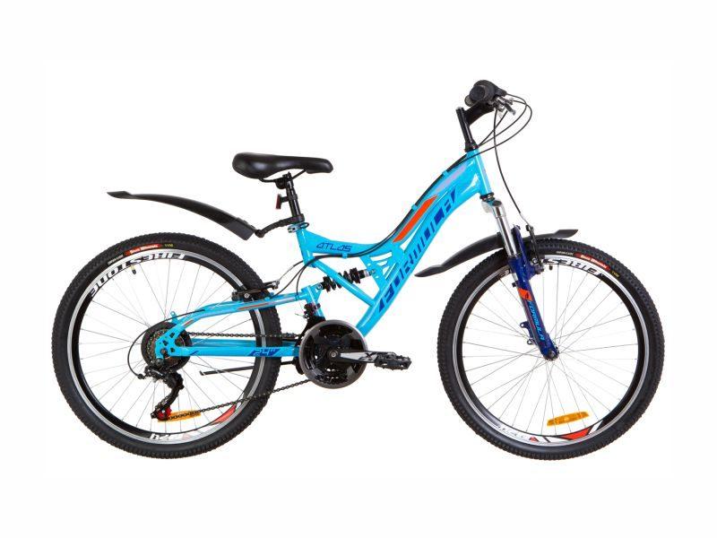 Велосипед Formula Atlas AM2 Vbr 24 blue-orange