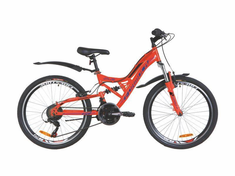Велосипед Formula Atlas AM2 Vbr 24 red-blue