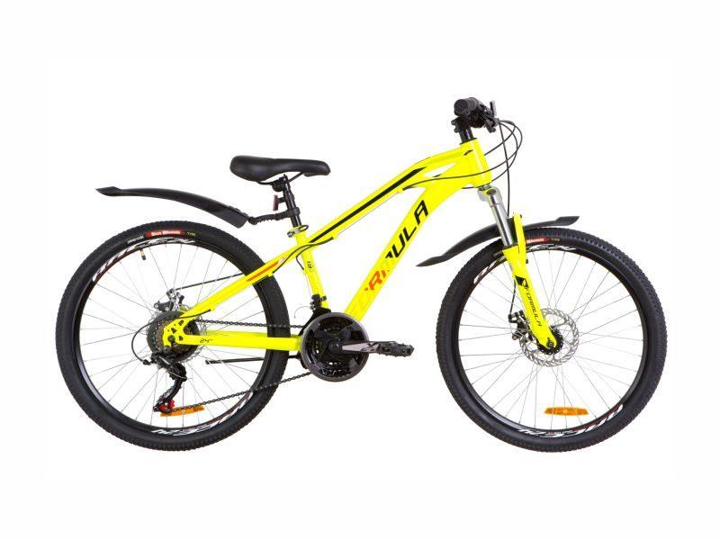 Велосипед Formula Dakar AM DD 24 yellow