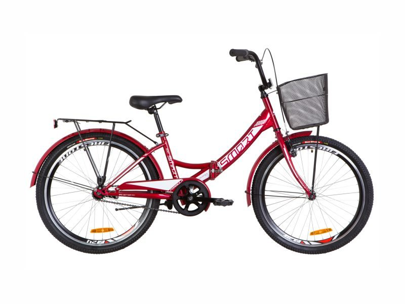 Велосипед Formula Smart 24 корзина red