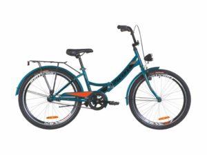 Велосипед Formula Smart 24 с фонарем blue-orange