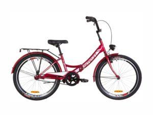 Велосипед Formula Smart 24 с фонарем red