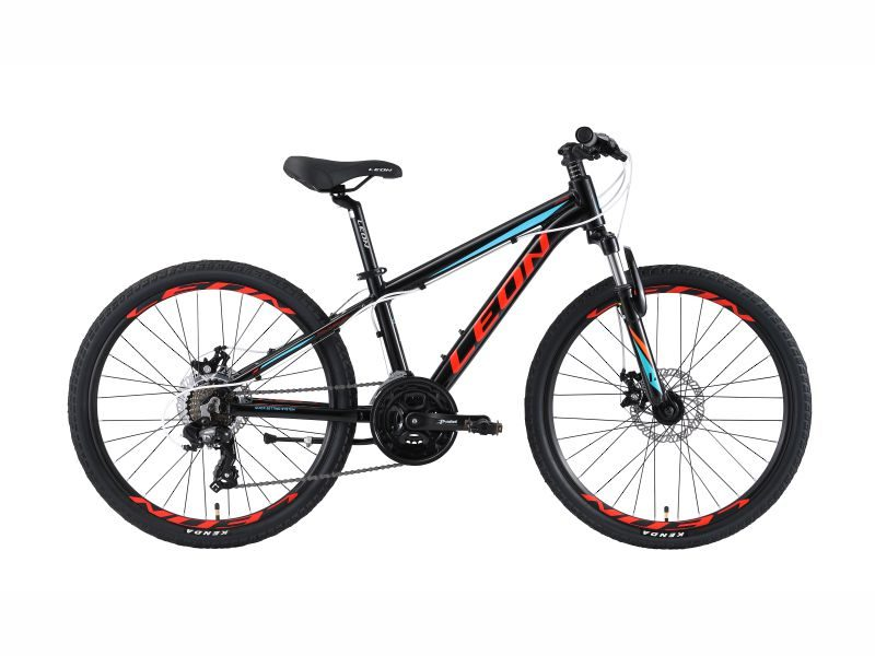 Велосипед Leon Junior AM DD black-red