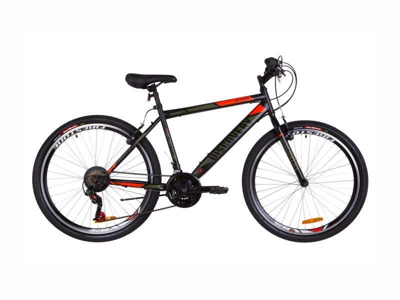 Велосипед Discovery Attack Vbr 18 black-orange