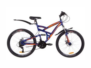 Велосипед Discovery Canyon DD blue-orange