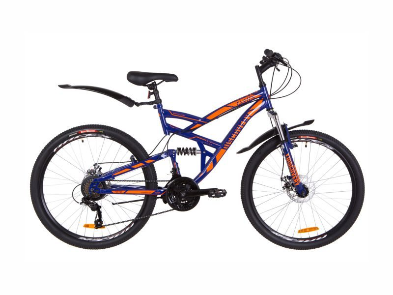 Велосипед Discovery Canyon DD blue-orange