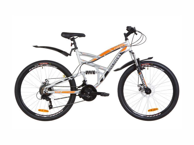 Велосипед Discovery Canyon DD grey-orange