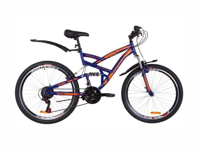 Велосипед Discovery Canyon Vbr blue-orange