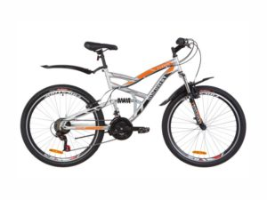 Велосипед Discovery Canyon Vbr grey-orange