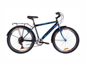 Велосипед Discovery Prestige Man black-blue