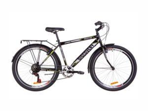 Велосипед Discovery Prestige Man black-grey