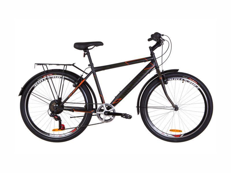 Велосипед Discovery Prestige Man black-orange