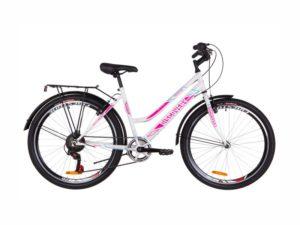 Велосипед Discovery Prestige Woman white-crimson