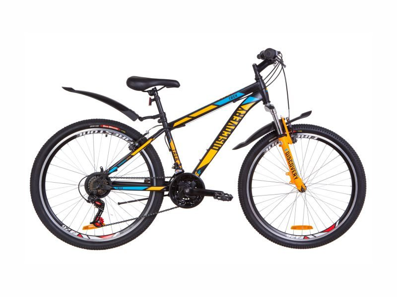Велосипед Discovery TREK AM Vbr 13 black-orange