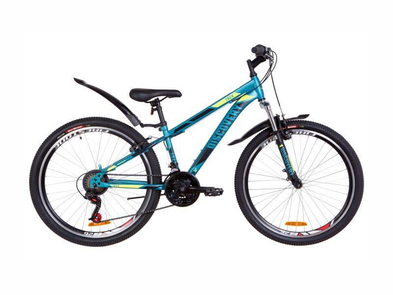 Велосипед Discovery TREK AM Vbr 13 malachite-yellow