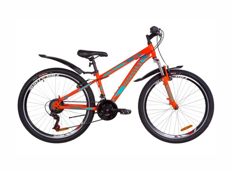 Велосипед Discovery TREK AM Vbr 13 orange-turquoise