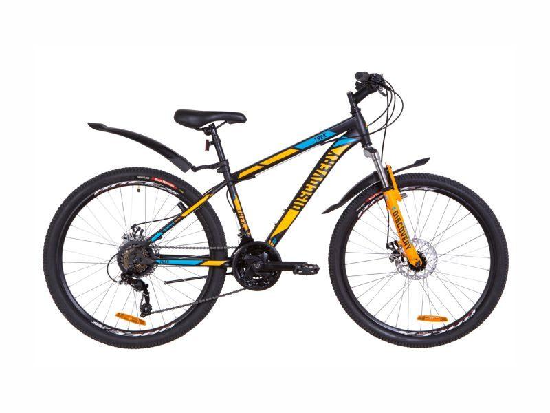 Велосипед Discovery TREK AM DD 15 black-orange