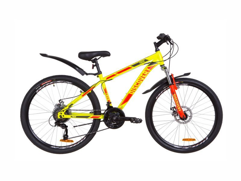Велосипед Discovery TREK AM DD 15 yellow