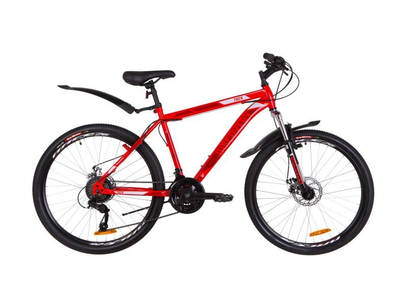 Велосипед Discovery TREK AM DD 18 red-blue