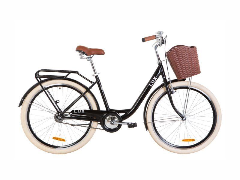 Велосипед Dorozhnik LUX 26 black