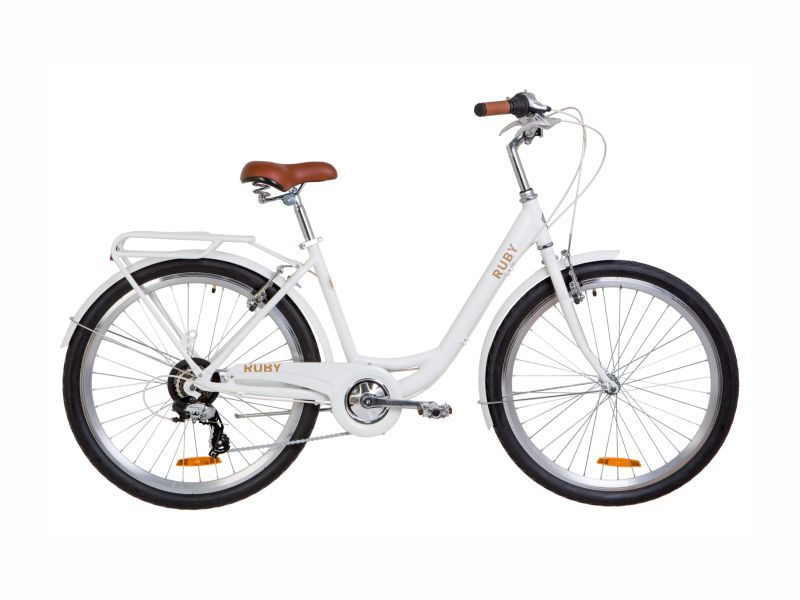 Велосипед Dorozhnik RUBY 26 white