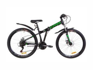 Велосипед Formula Hummer DD 26 black-lime